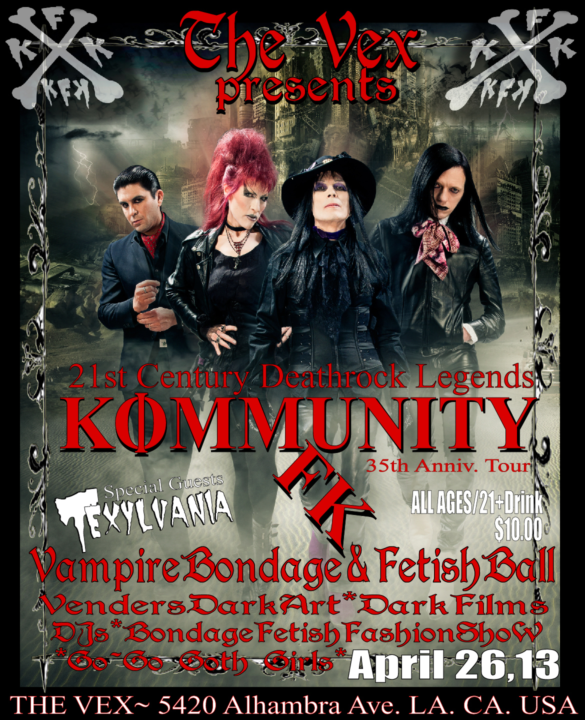 Kommunity FK-35th Anniv.Tour