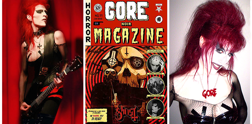 Sherry Rubber ~ Interview w/ Gore Nore