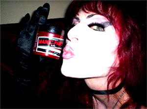 Sherry Rubber Endorsed By Manic Panic