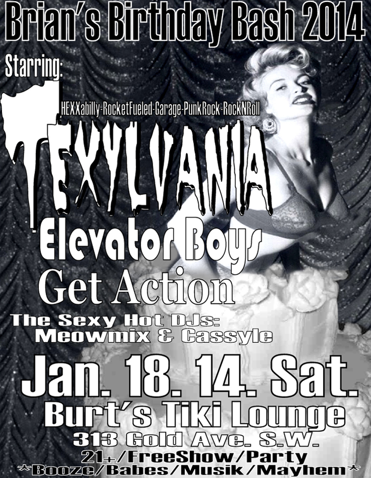 Texylvania Headlines Bday Bash