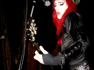 Sherry Rubber Live In Hollywood USA